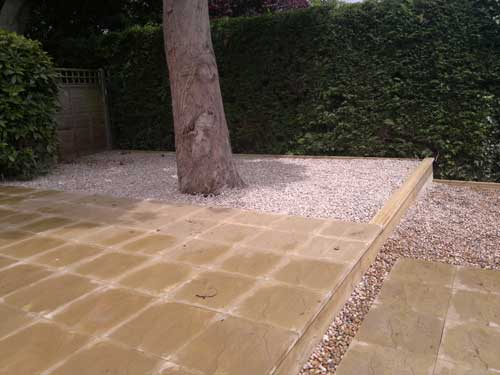 Patios, Driveways & Brickwork after Willow Landscapes completed work