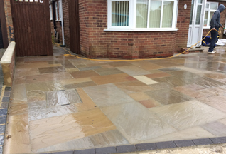 Indian Sandstone Panel - Willow Landscapes